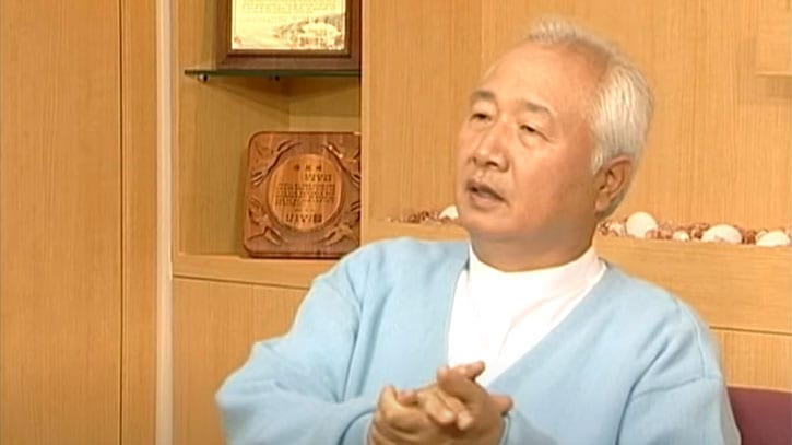 Ilchi Lee responding to an interview