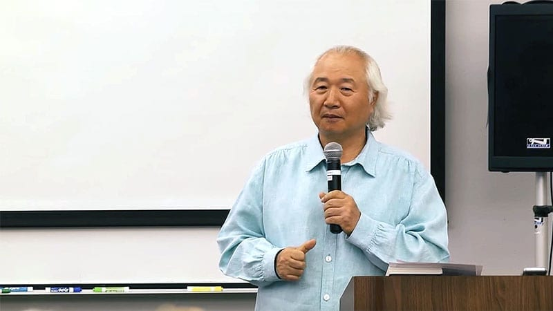 Ilchi Lee speaking at Yavapai College Lunch & Learn