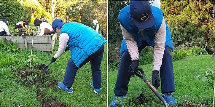 Ilchi Lee planting in New Zealand