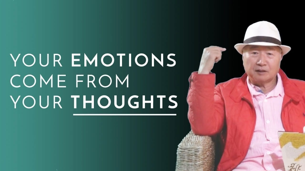 Ilchi Lee - your emotions come from thoughts