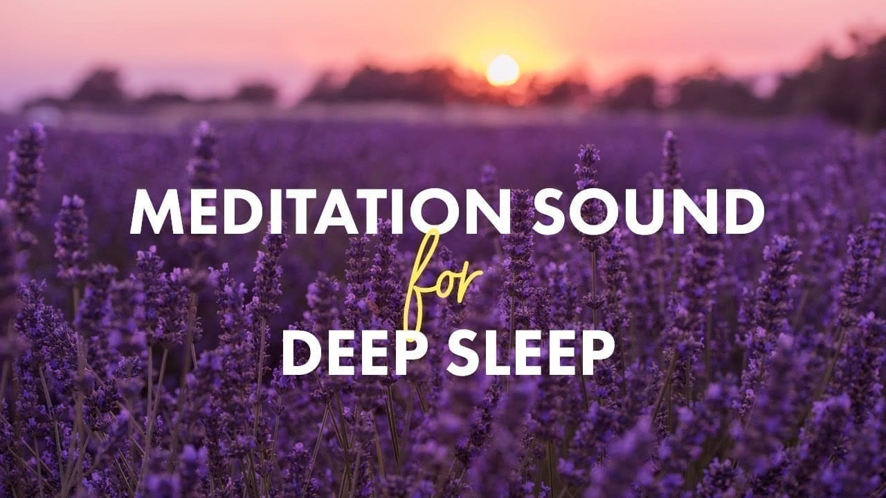 meditation sound for deep sleep